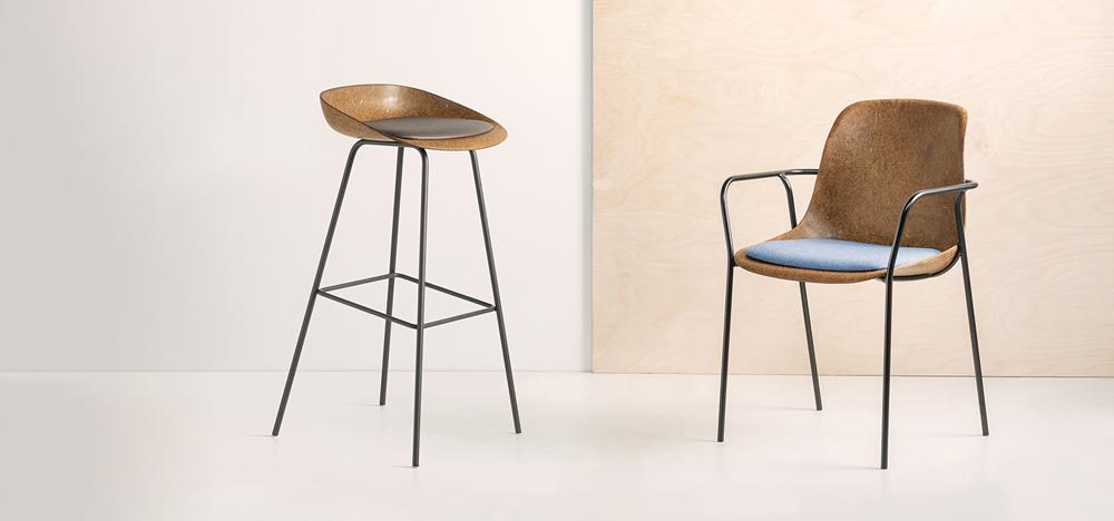 Duurzame stoel | Hemp van Vepa Drentea
